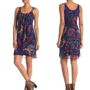 Desigual Valkiria Lorna Global Traveler Dress 36